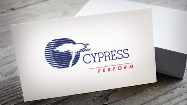 Cypress Semiconductor Stock Lower on Morgan Stanley Downgrade
