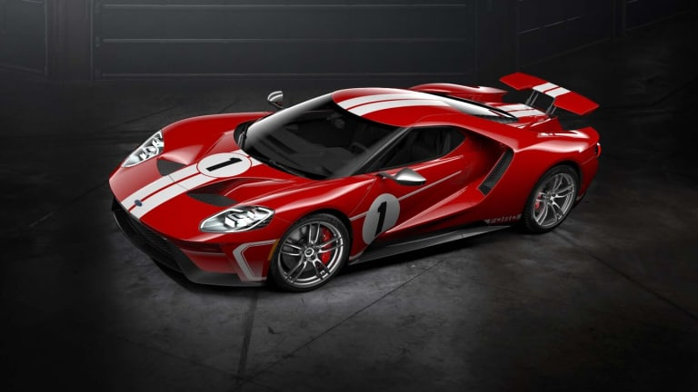 Ford Just Revealed a 'Heritage' Themed 2018 Ford GT - Here's What It Looks Like