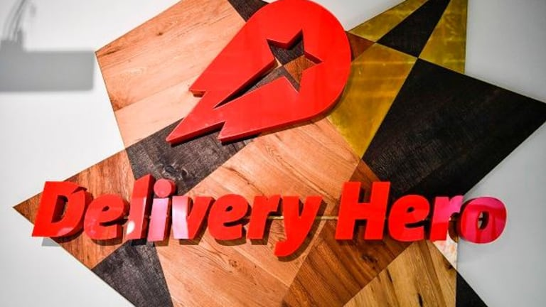 Delivery Hero Shades Blue Apron With Solid Gains in Europe's Second-Biggest IPO of 2017
