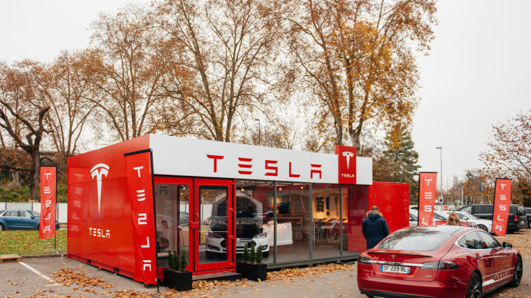 Tesla, Apple and Starbucks Are Jumping on the Chance to Open Stores Inside Bankrupt Retailers