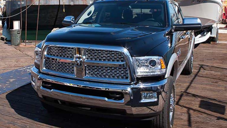 Fiat Chrysler Recalling Nearly 500,000 Ram Trucks Over Faulty Water Pump