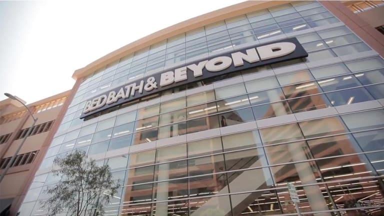 Bed, Bath & Beyond Shares Jump After C-Level Management Shakeup at Home-Goods Retailer