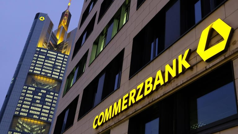 Commerzbank Rises After Cerberus Pounces On Germany's Second-Biggest Lender