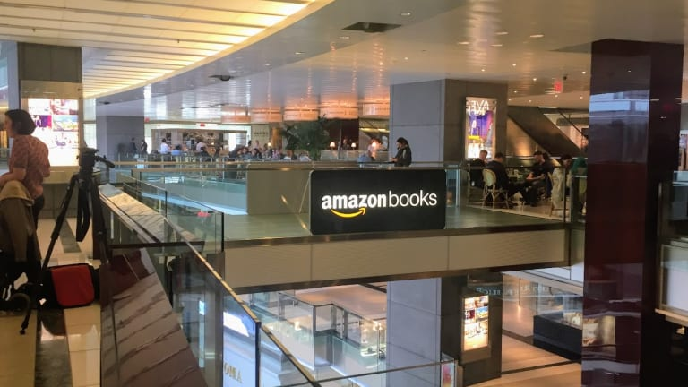 Amazon's New Bookstore in New York City Is More of a Showpiece Than Anything Else