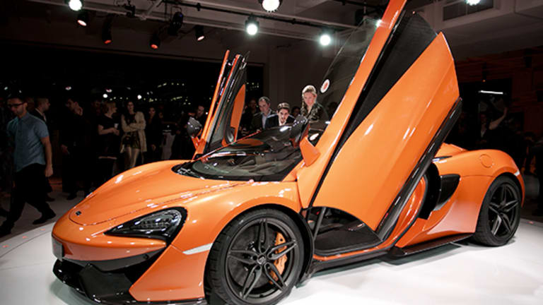 McLaren Just Revealed This Insane 562 Horsepower Convertible Car That Goes Over 200 mph