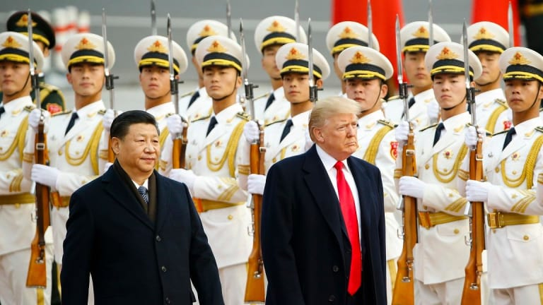 Trump Puts America First, Xi Says Globalisation Irreversible in Trade Talk Clash