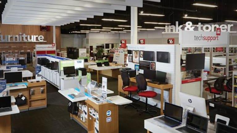 Office Depot Shares Plunge on $1 Billion CompuCom Deal