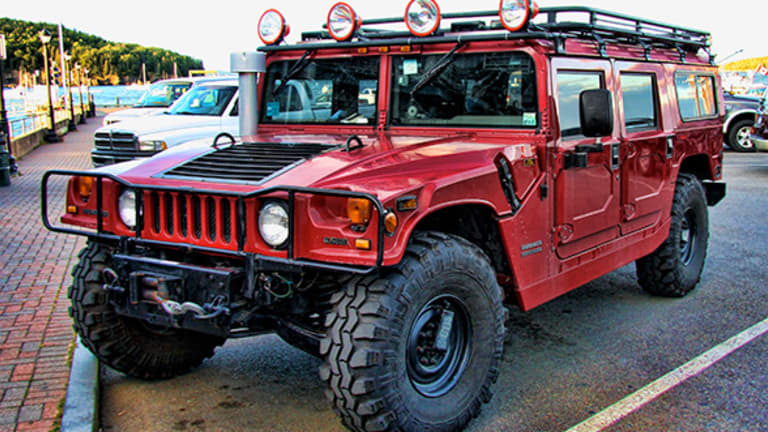 Tupac's Hummer H1 Just Sold for $206,000