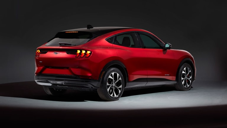 Tesla Shrugs Off Ford's New Mustang Mach-E Utility Vehicle