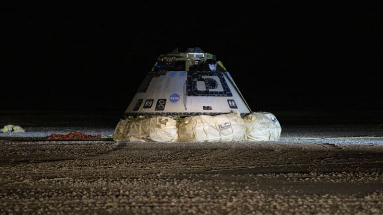 After Failing to Reach Space Station, Boeing's Starliner Comes Home
