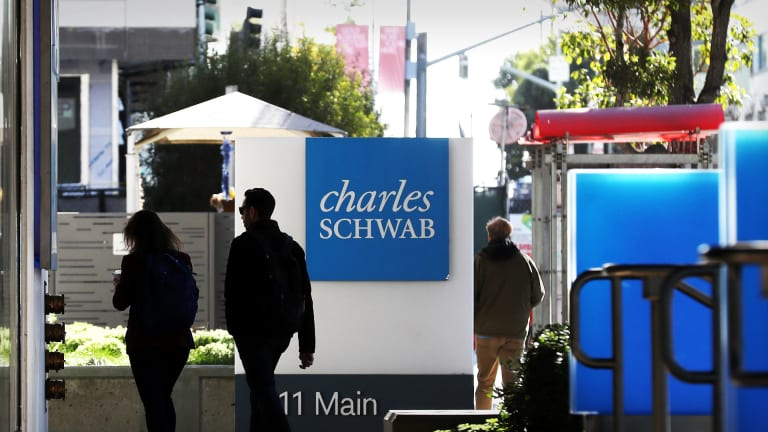 Charles Schwab Shares Drop Amid Earnings Miss and Market Slide