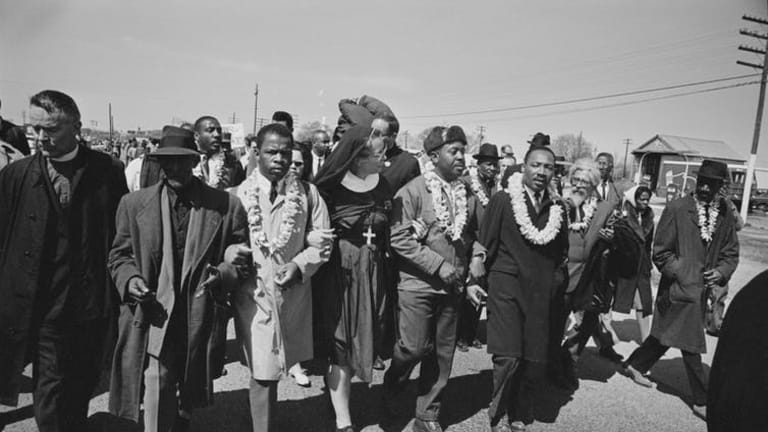 John Lewis and C.T. Vivian belonged to a long tradition of religious leaders in the civil rights struggle