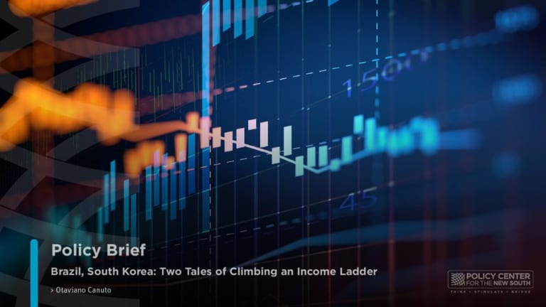 Brazil, South Korea: Two Tales of Climbing an Income Ladder
