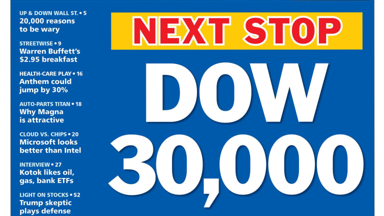 Record High Wednesday – Dow 30,000 in Sight