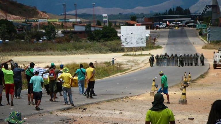 Brazil and Venezuela clash over migrants, humanitarian aid and closed borders