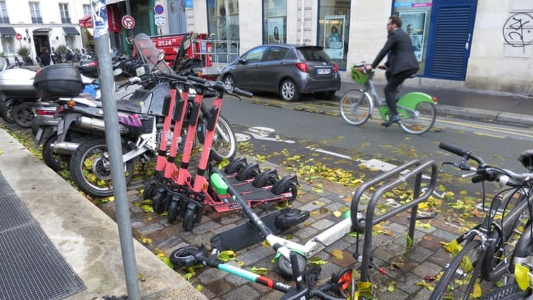 E-scooters, bikes and urban mobility: lessons from the streets of Paris