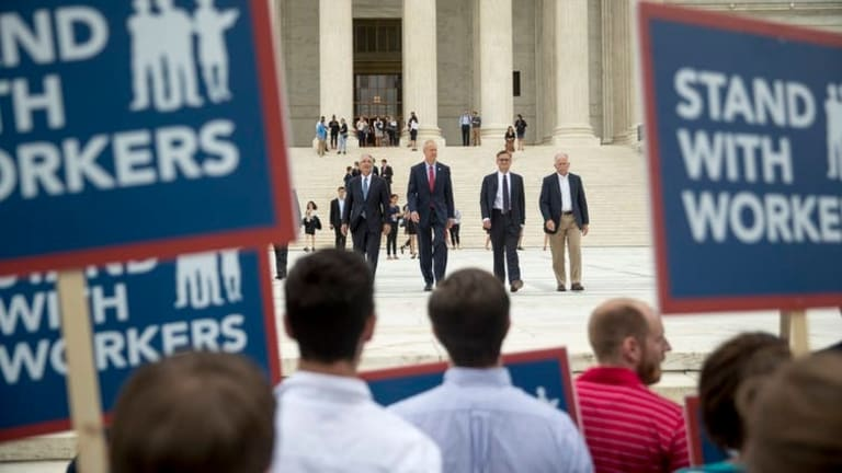 Janus decision extends First Amendment 'right of silence'