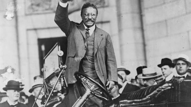 Democratic candidates are sounding a lot like Teddy Roosevelt