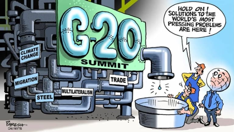 EOQ Friday – Quarter Closes with G20 Meeting in Play