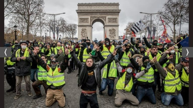 Shockwaves from French 'yellow vest' protests felt across Europe