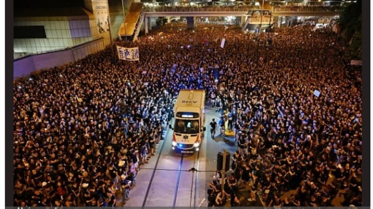 HK protests continue as China asserts more control over the island territory