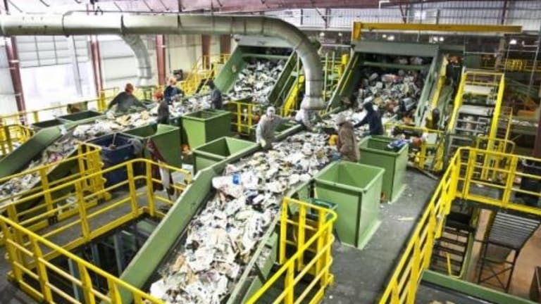 Mountains Of Trash Piling Up On US Shores After China Stops Taking It