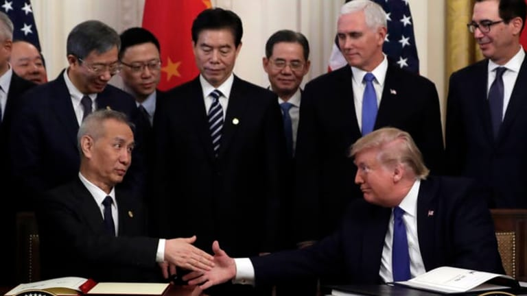 US-China trade pact President Trump just signed fails to resolve 3...