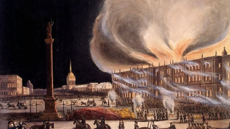 Notre Dame fire, echoes of the 1837 blaze that destroyed Russia's Winter Palace