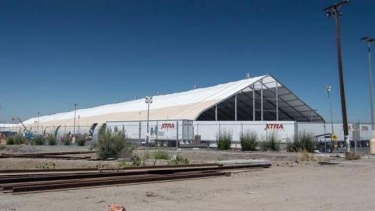"""Words Fail Me. It's Insanity"": Inside Tesla's ""Preposterous"" Model 3 Tent"