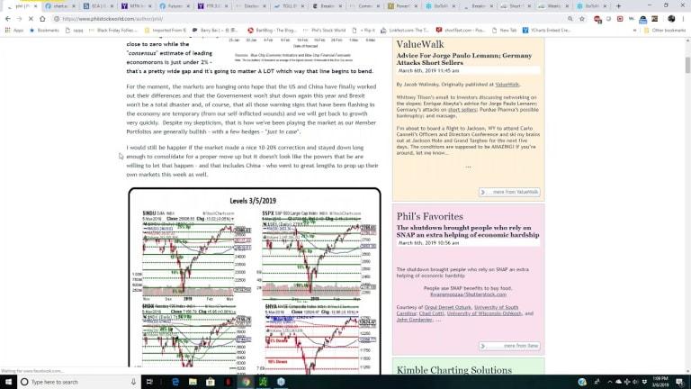 The PhilStockWorld.com Weekly Trading Webinar – 03-06-19