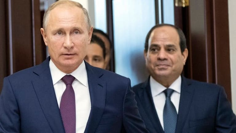 Russian influence operations extend into Egypt