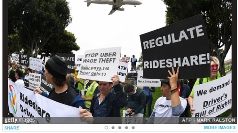 Uber drivers report 80-plus hour workweeks and a lot of waiting