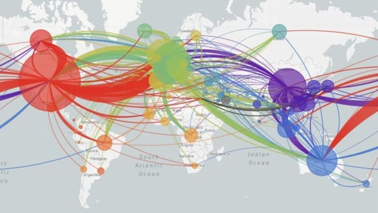 The coronavirus genome is like a shipping label that lets epidemiologists track where it's been