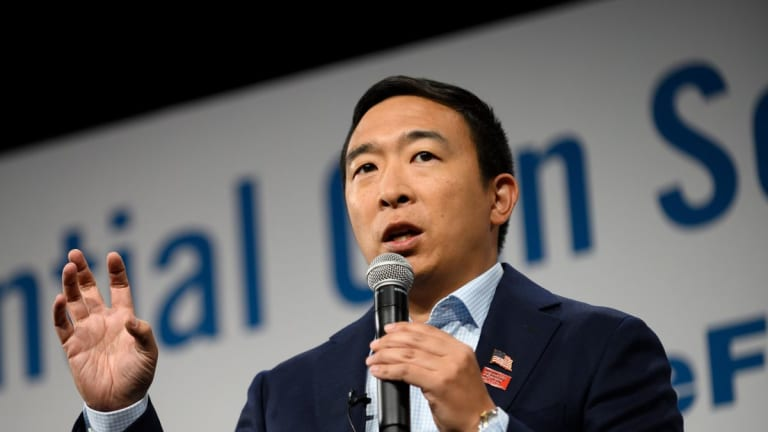 Andrew Yang Announces New Party, Supports Bitcoin