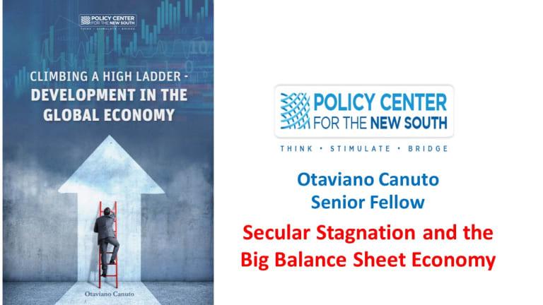 Secular Stagnation and the Big Balance Sheet Economy
