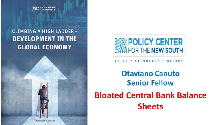 Bloated central bank balance sheets