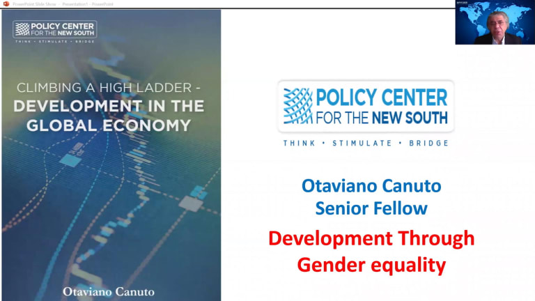 Development through gender inequality