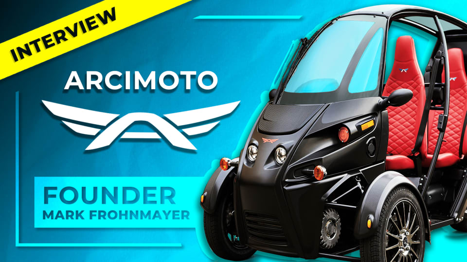 The FUV & Beyond: Arcimoto Interview - CEO/Founder Mark Frohnmayer