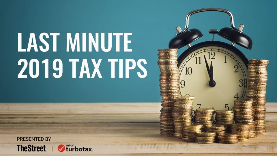 TurboTax's Last Minute 2019 Tax Tips