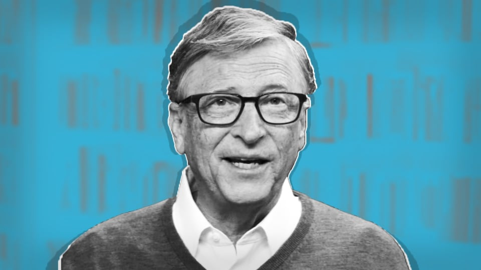 Watch: Bill Gates' Top 5 Books For Summer Reading