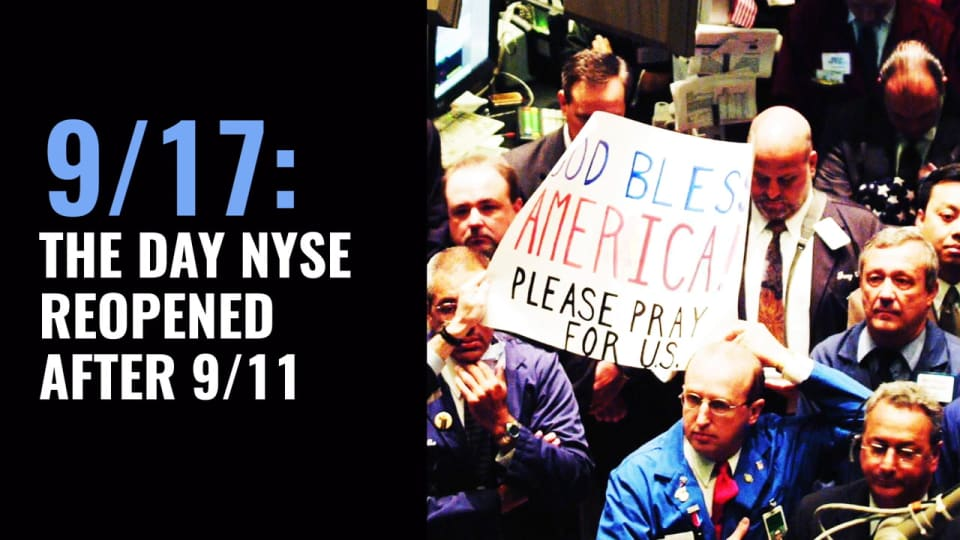 Former NYSE Trader Recalls the Day NYSE Reopened After 9/11