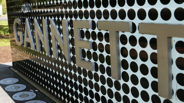 Gannett Advances on Reported Merger Talks With Gatehouse