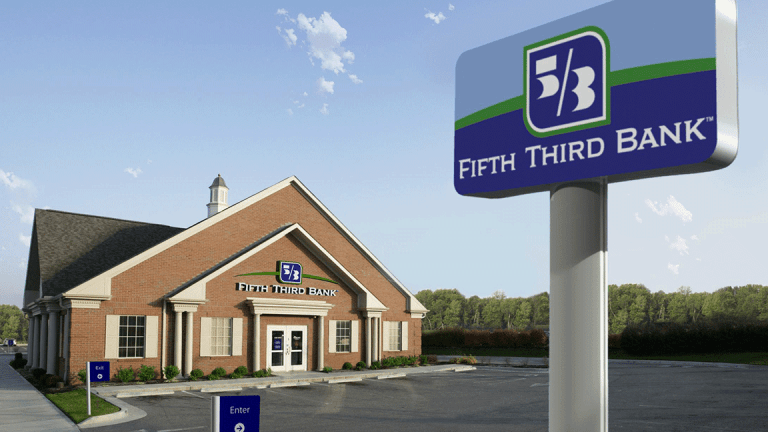Fifth Third Bancorp Tops Estimates as Earnings Jump 33%