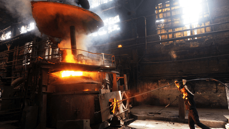 U.S. Steel Stock Lower After News of 200 Furloughs in Michigan