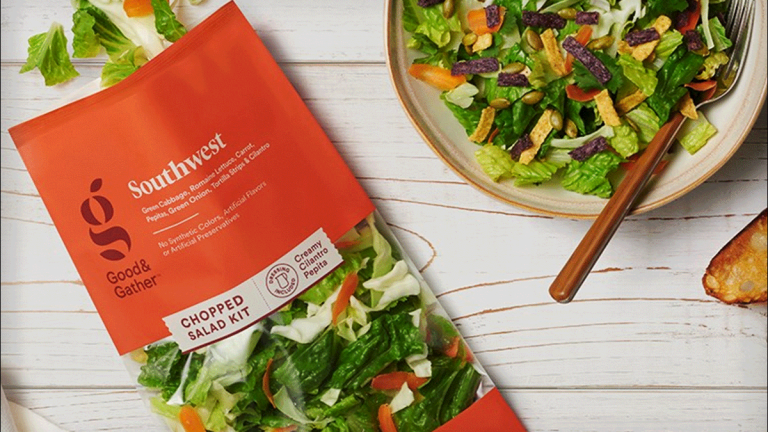 Target Launches Good & Gather Food Selection, Its Largest Owned Brand