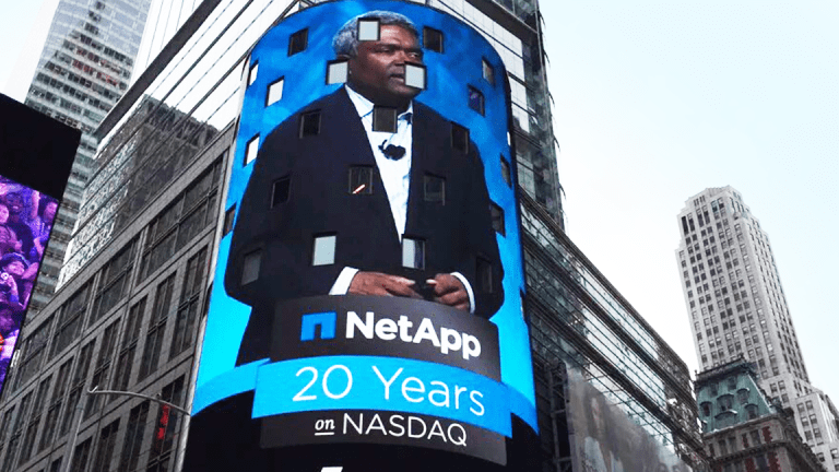 NetApp Shares Plunge Following Weaker-Than-Expected Earnings