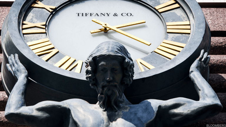 Tiffany Tops Q1 Profit Forecast, But Sees 'Dramatically Lower' Tourist Spending