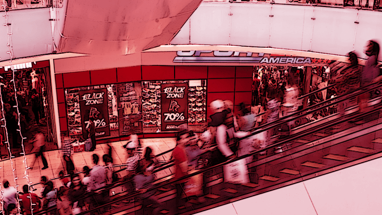 The Bodies Are Strewn Across the Retail Space