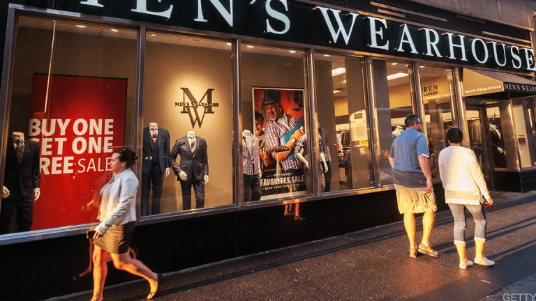 Shares of Tailored Brands Dive Again, Despite Analyst Boost