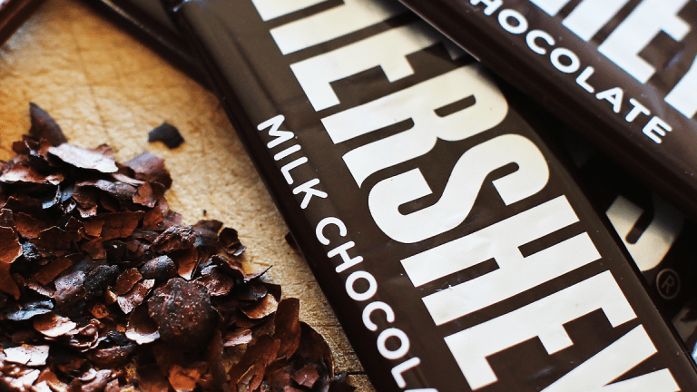 Hershey Shares Find Sweet Spot After Earnings Beat